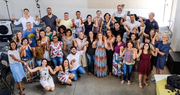 Encontro da Rede Mãos Dadas 2019