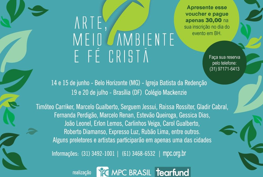 Arte, meio ambiente e fé cristã – Brasília